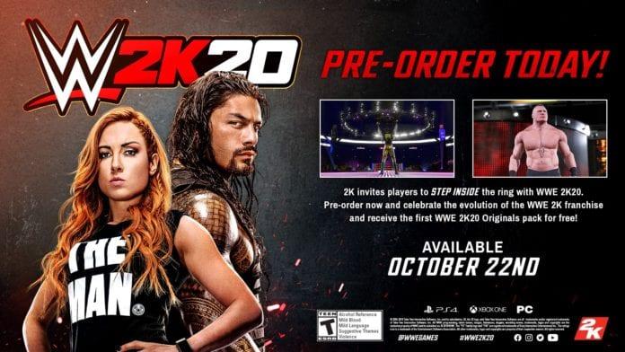 Открылся предварительный заказ на WWE 2K20