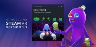 Valve представила SteamVR версии 1.7
