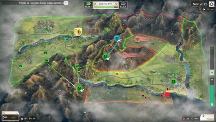 Игра Rebel Inc: Escalation появится в раннем доступе уже в октябре