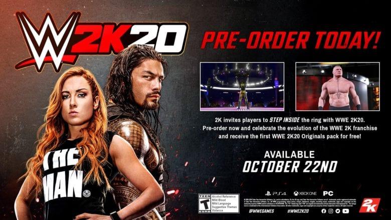 Photo of Открылся предварительный заказ на WWE 2K20