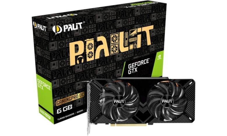 Анонс видеокарт Palit GeForce GTX 1660 SUPER