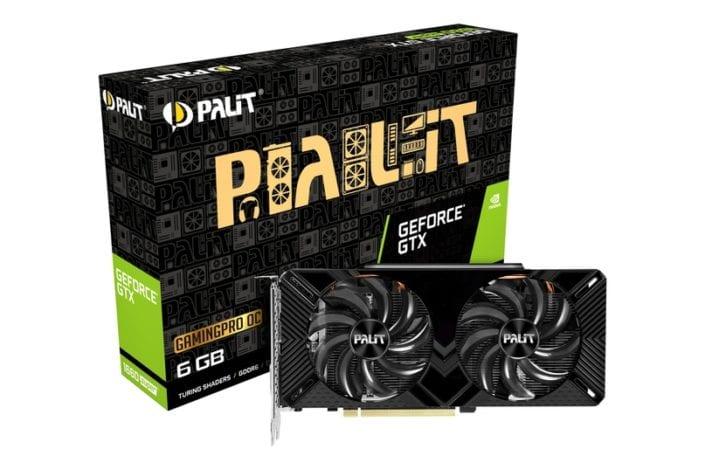Анонс видеокарт Palit GeForce GTX 1660 SUPER