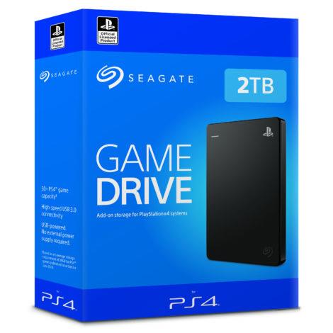 Внешний жёсткий диск Seagate на 2 Тб для PlayStation 4 уже в продаже