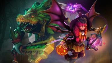 Photo of В Dota 2 добавлена хэллоуинская сокровищница