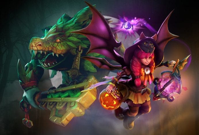 В Dota 2 добавлена хэллоуинская сокровищница