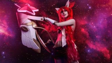 Косплей Star Guardian Jinx от Алисы Шпигель