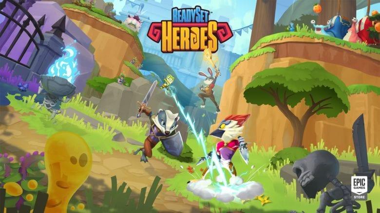 Отправляйтесь в эпические сражения и походы по подземельям в ReadySet Heroes