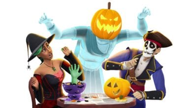 Отпразднуйте Хэллоуин вместе с The Sims 4