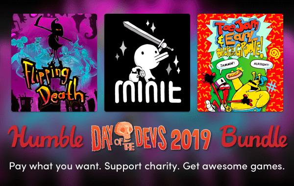 Стал доступен набор игр — Humble Day of the Devs Bundle