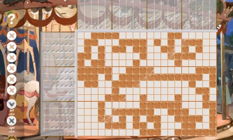 Увлекательная интеллектуальная игра Японские кроссворды Викторианский Пикник