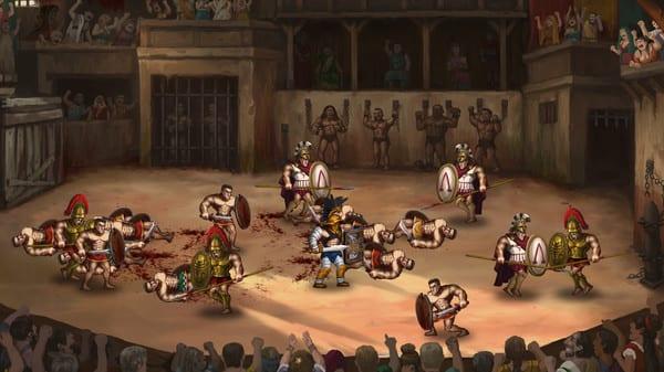 Арена ждет тебя, гладиатор. Игра Story of a Gladiator вышла на PlayStation, Xbox, Nintendo и ПК