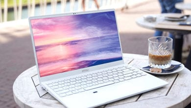 Белоснежный ноутбук Prestige 14