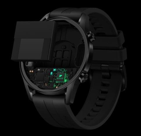 Благодаря системе оптимизации использования батареи смарт-часы HUAWEI WATCH GT 2 работают еще дольше