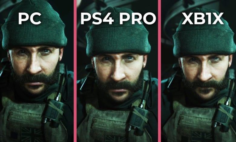 Видео. Сравнение графики в Call of Duty: Modern Warfare на ПК и консолях