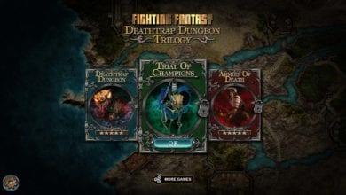 Войдите в самый смертоносный лабиринт. Игра Deathtrap Dungeon Trilogy вышла на Nintendo