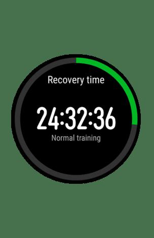 Время, требуемое организму для восстановления перед следующей тренировкой