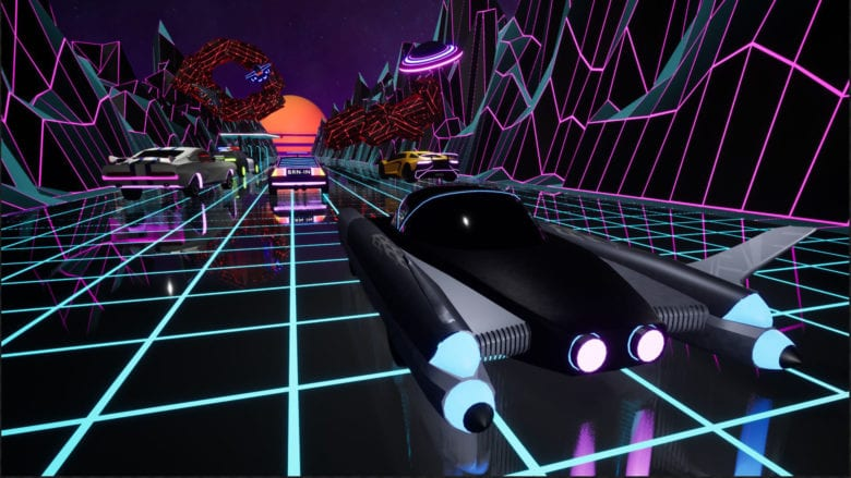 Выберите свой космический корабль. Brain in Retro Space вышла на PlayStation