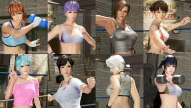 Photo of Вышло дополнение набор костюмов «Зарядись! Одежда для тренировок» для DOA6
