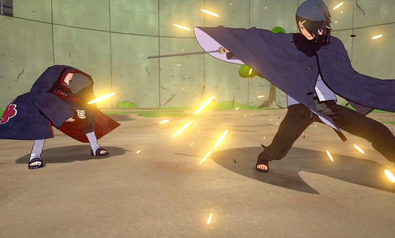 Вышло дополнение NTBSS: Master Character Training Pack - Sasuke Uchiha (Boruto)