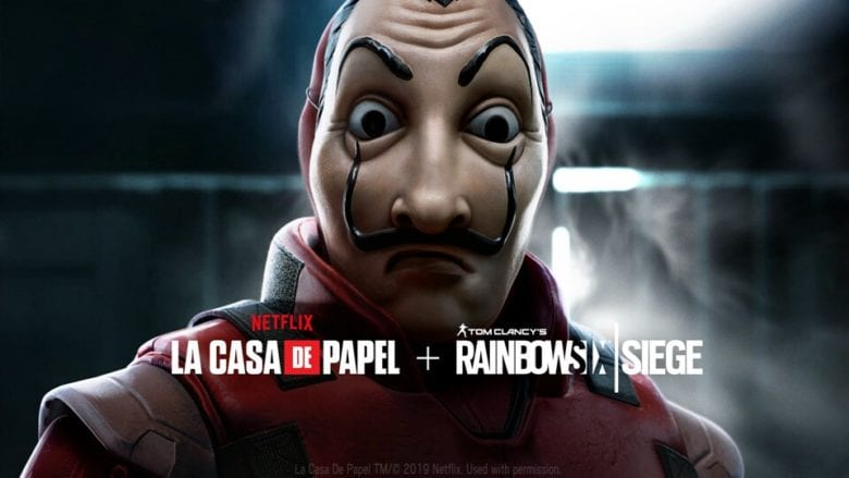 """В банке произошел захват заложника. Новое игровое событие """"Бумажный дом"""" в Rainbow Six Осада"""