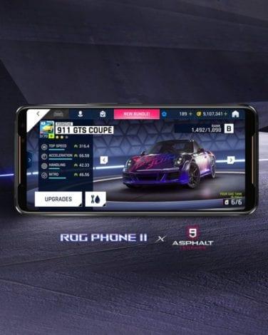 В Asphalt 9: Legends доступен эксклюзивный Porsche 911 в фирменном стиле ROG