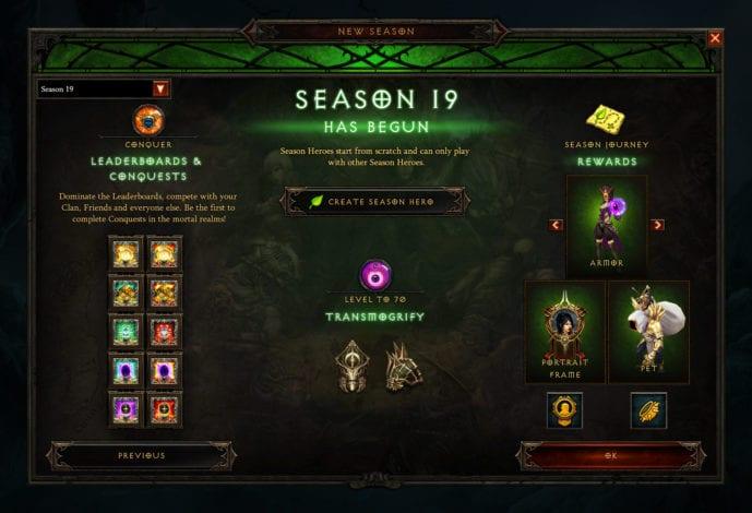 В Diablo III скоро стартует 19-й сезон: «Сезон Вечного противостояния»