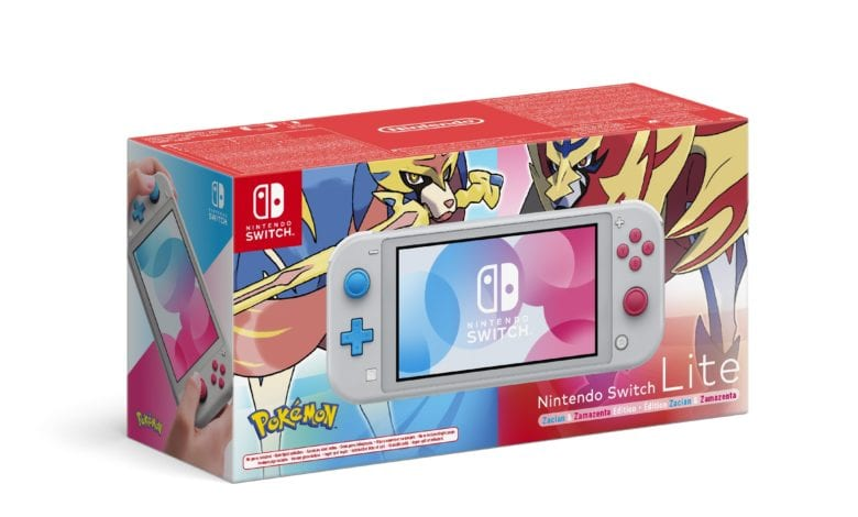Доступна для предзаказа Nintendo Switch Lite (версия «Зэйшиан и Земазента»)