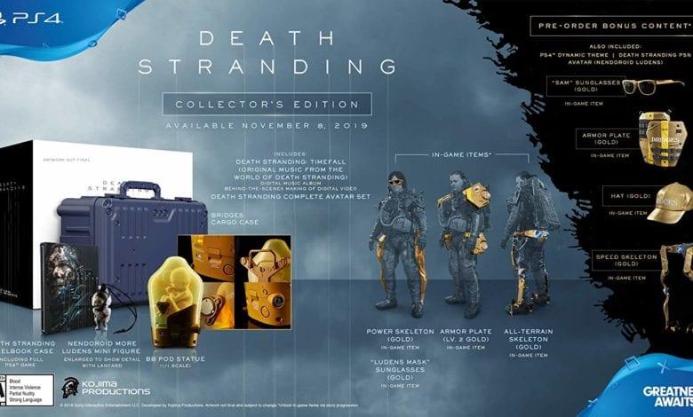 Игра Death Stranding Special Edition (Steelbook) - Обзор