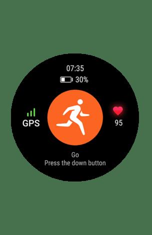 На смарт-часах установлено более 10 стандартных беговых тренировок
