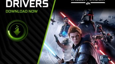 Обновите графический драйвер Nvidia для «Звёздные Войны Джедаи Павший Орден»