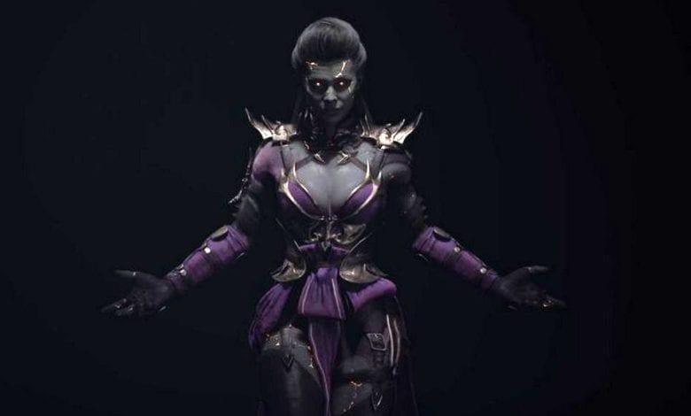 Персонаж Синдел доступна в Mortal Kombat 11