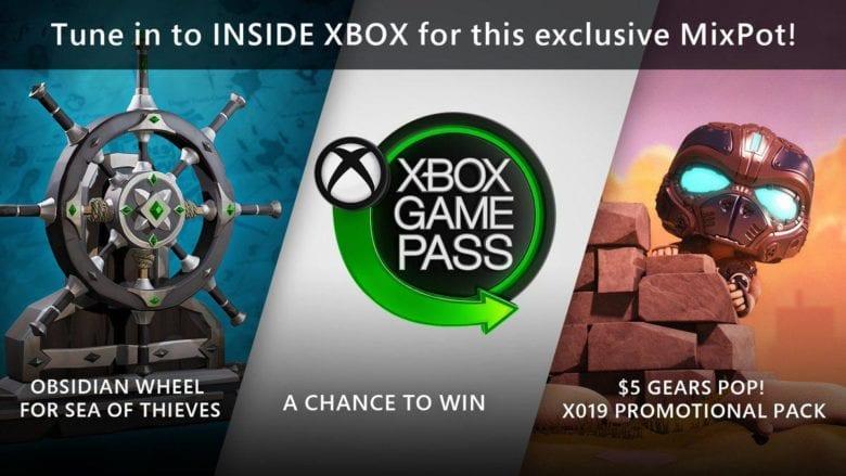 Получи подарки за просмотр Xbox Inside через Mixer