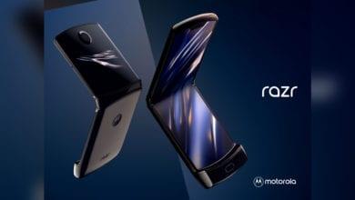 Photo of Складной RAZR с гибким экраном от Motorola