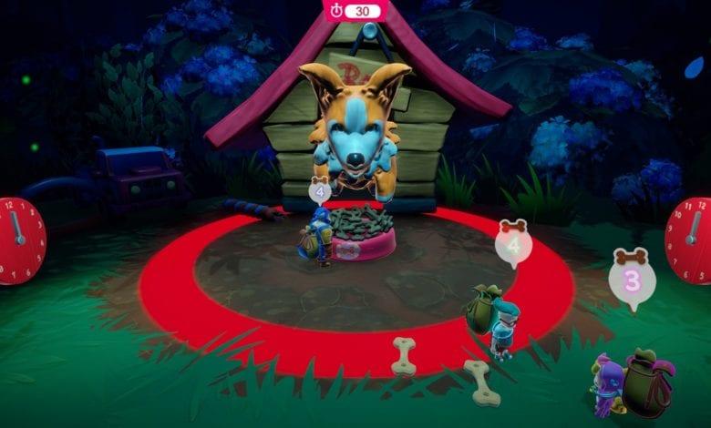 Убегайте от страшного робота-пылесоса. Игра Skelittle: A Giant Party! вышла на Nintendo