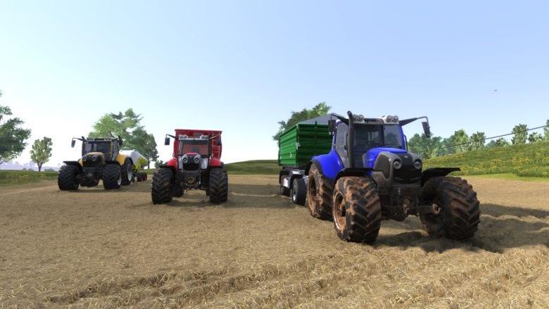 Это не просто симулятор фермы. Игра Farmer's Dynasty Deluxe Edition вышла на PlayStation
