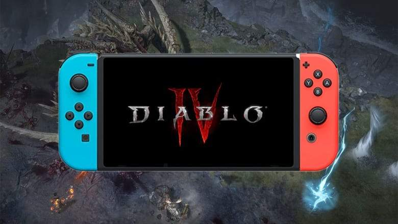 Diablo 4 на Nintendo Switch