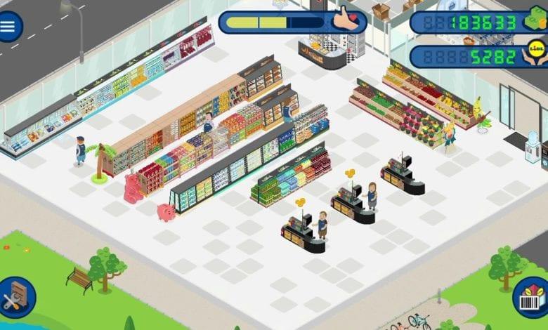My Lidl Shop - Это игра по строительству супермаркетов