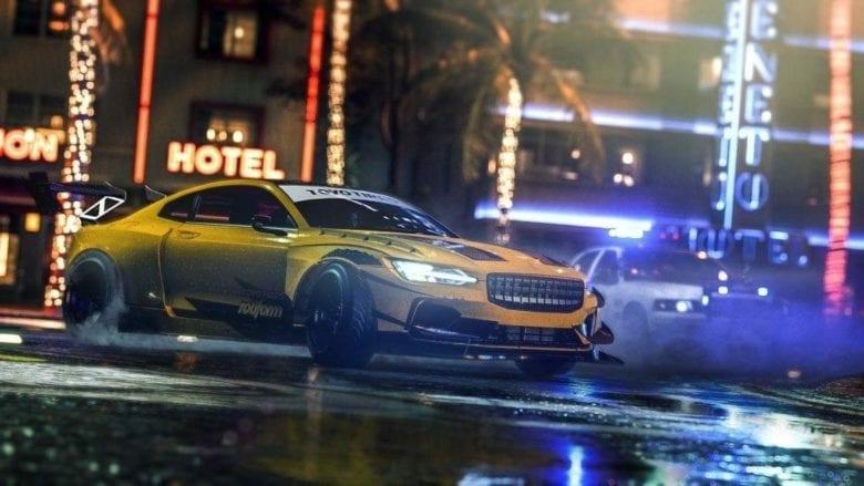 Need for Speed Heat - Список машин