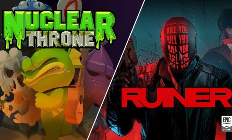 RUINER и Nuclear Throne можно забрать бесплатно