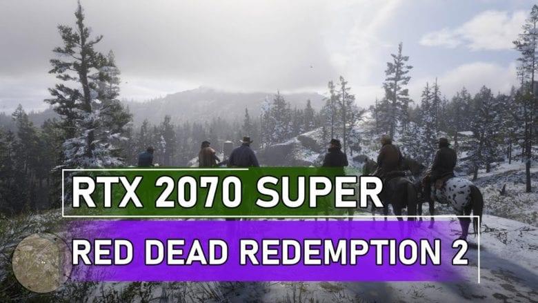 Red Dead Redemption 2 на Palit GeForce RTX 2070 Super