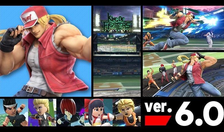 Super Smash Bros - обновления (версия 6.0.0)