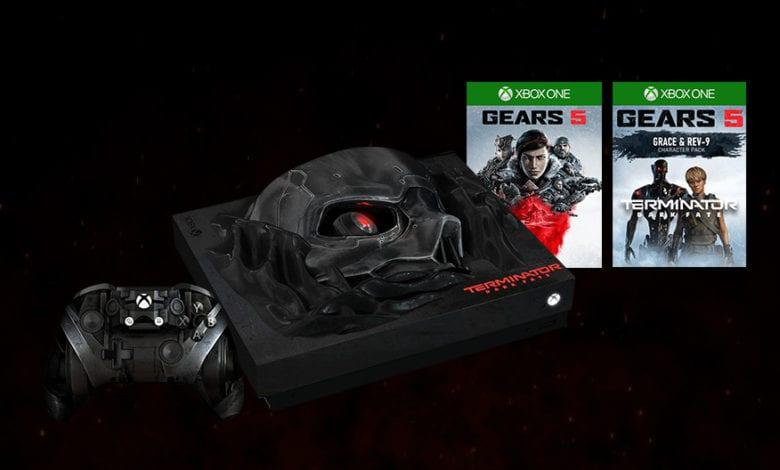 Want to Win the New Terminator: Dark Fate Custom Xbox