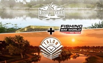 Вышли новые карты Fishing Sim World: Pro Tour - Talon Fishery и Fishing Sim World: Pro Tour - Lough Kerr