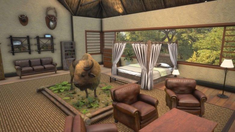 Вышло дополнение - Saseka Safari Trophy Lodge к игре theHunter: Call of the Wild