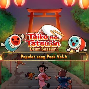 Вышло дополнение Taiko no Tatsujin - Popular Song Pack Vol.6