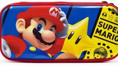В продажу поступит чехол Nintendo Switch Premium Vault (издание Mario)