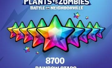 В Plants vs. Zombies: Битва за Нейборвиль стали доступны радужные звезды