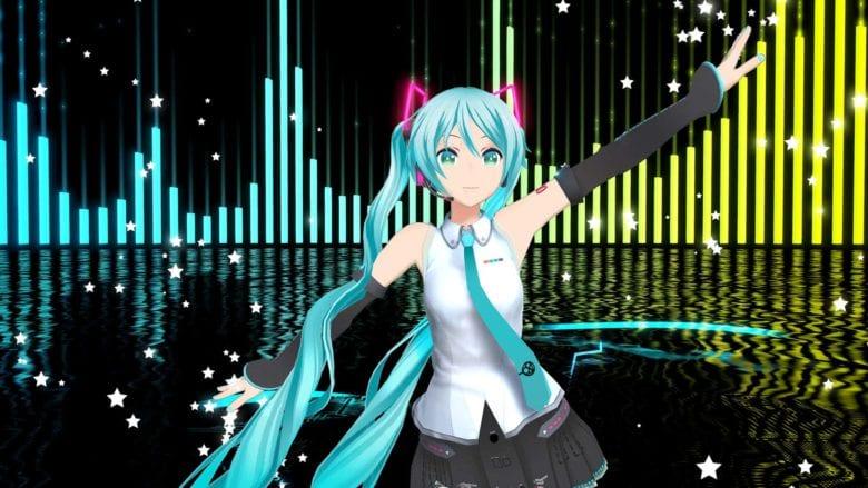 Для Hatsune Miku VR вышли новые песни и танцы