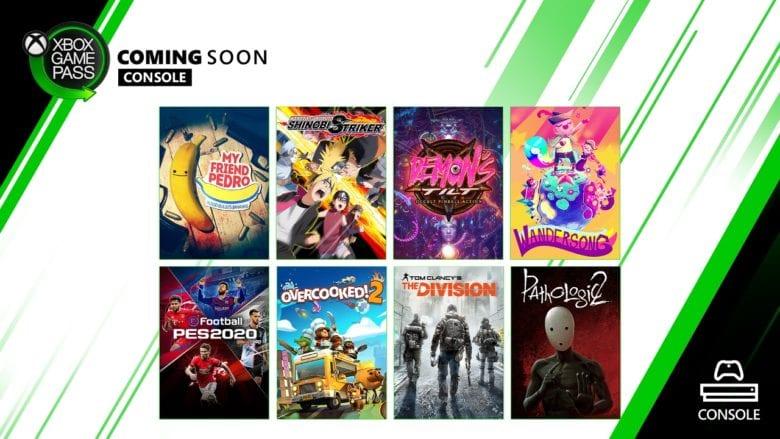 Игры Xbox Game Pass в первой половине месяца