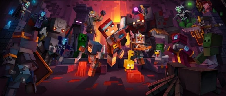 Как скачать Minecraft Dungeons